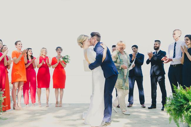 backyard Toronto ceremony