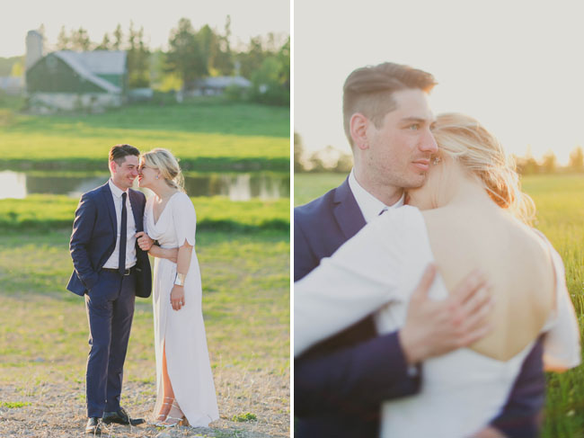 backyard Toronto wedding