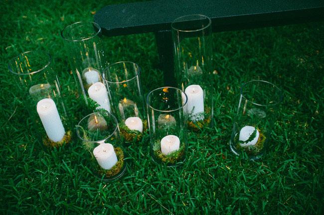 candle vase terrarium