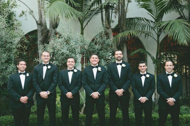 bow tie tux groomsmen