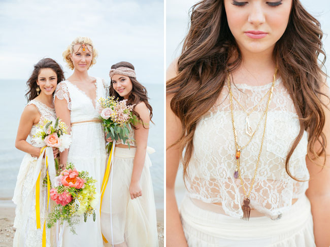 layered boho necklaces
