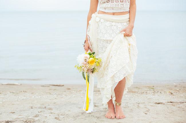 lace skirt bridesmaid