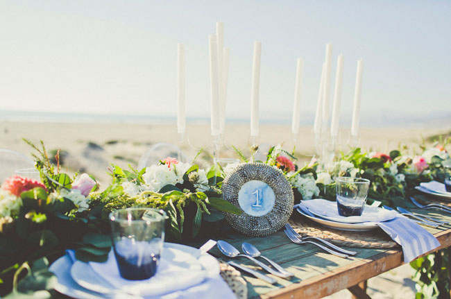 sea tablescape