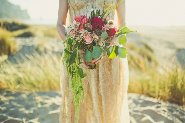 whimsical sea bouquet