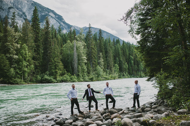 mountain groomsmen