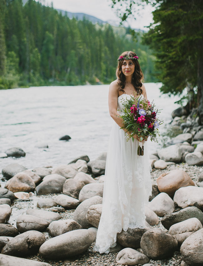 Canada mountain bride