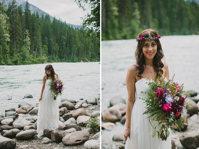 Canada mountain bride