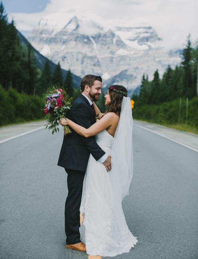 Canada mountain wedding