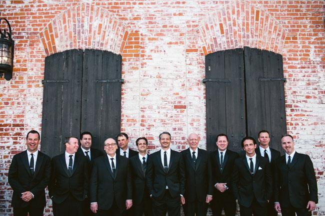Carondelet House groomsmen