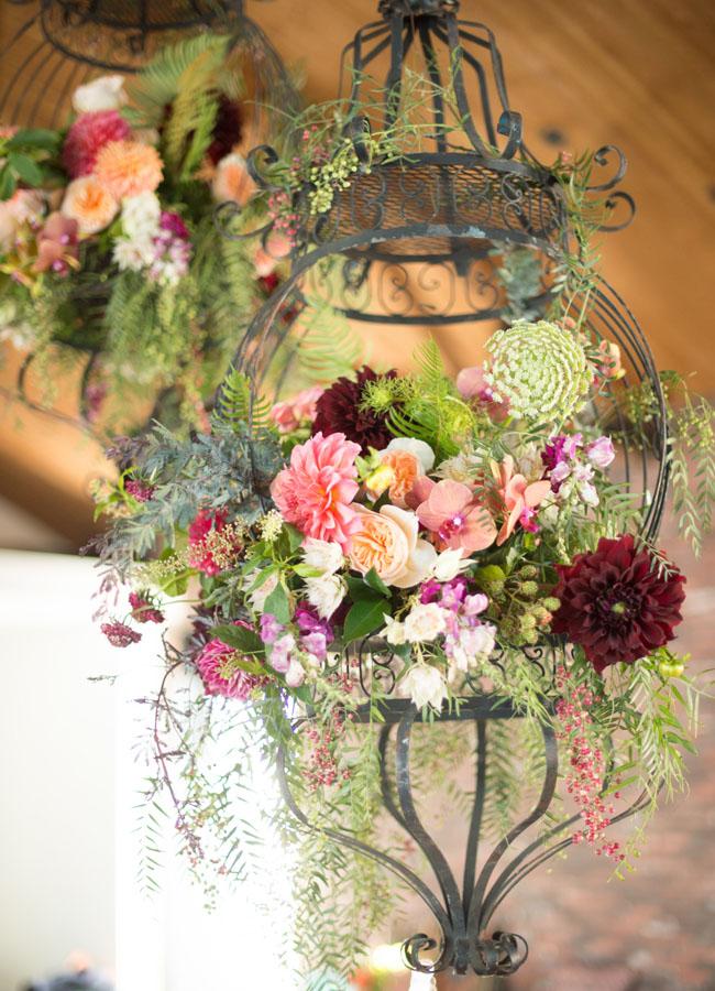 floral chandelier lamp