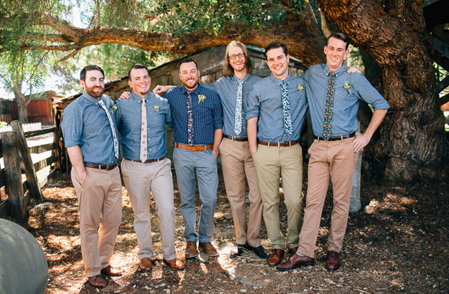 chambray groomsmen shirts