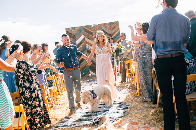 Flying Caballos Guest Ranch ceremony