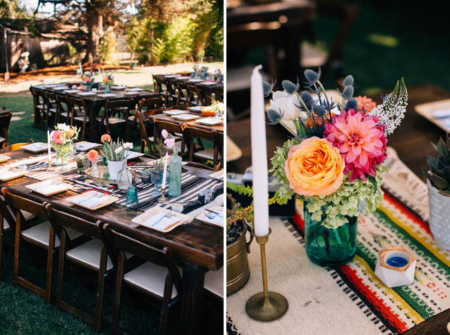 rustic farm tables