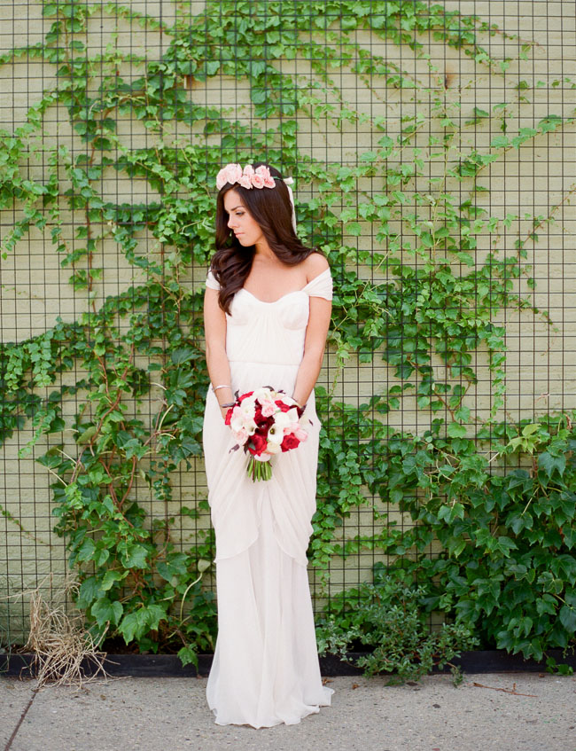Winifred Bean wedding gown