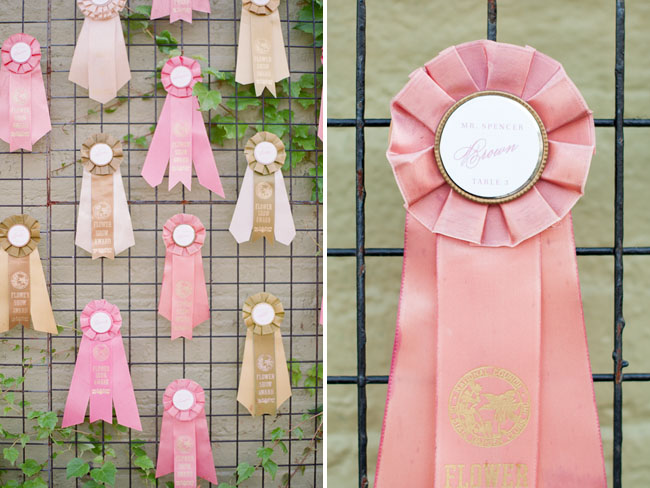 show ribbon escort display