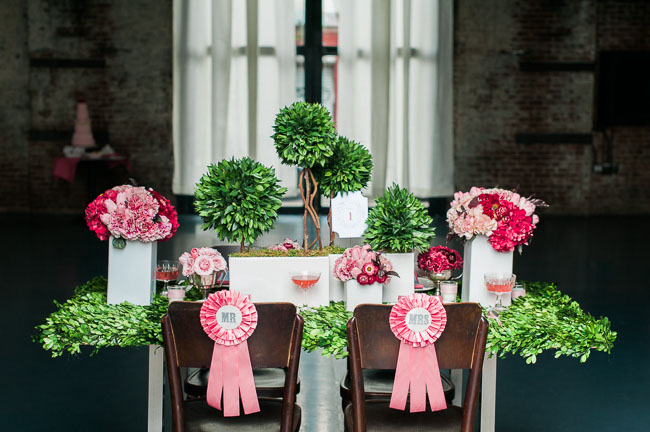Fall preppy tablescape