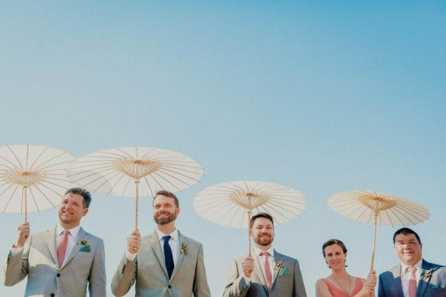 parasol ceremony