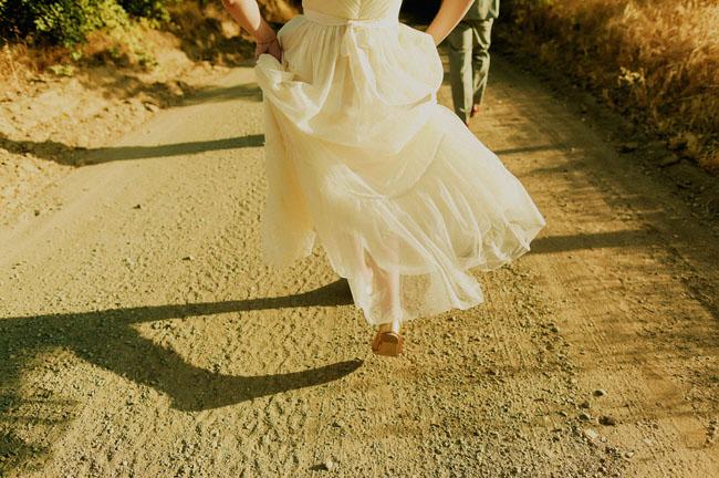 rustic capay wedding