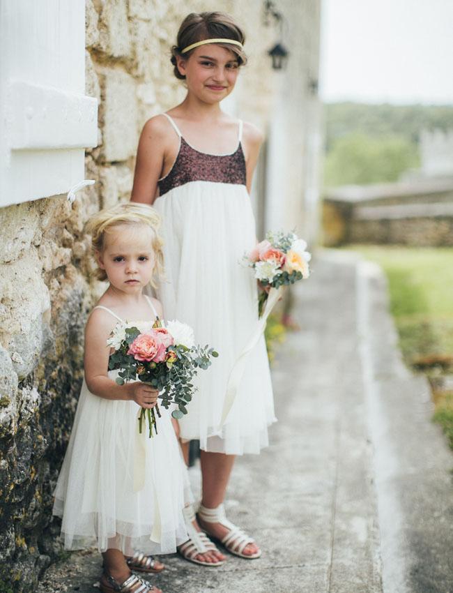 French flower girls