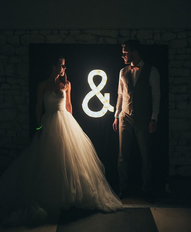 ampersand marquee