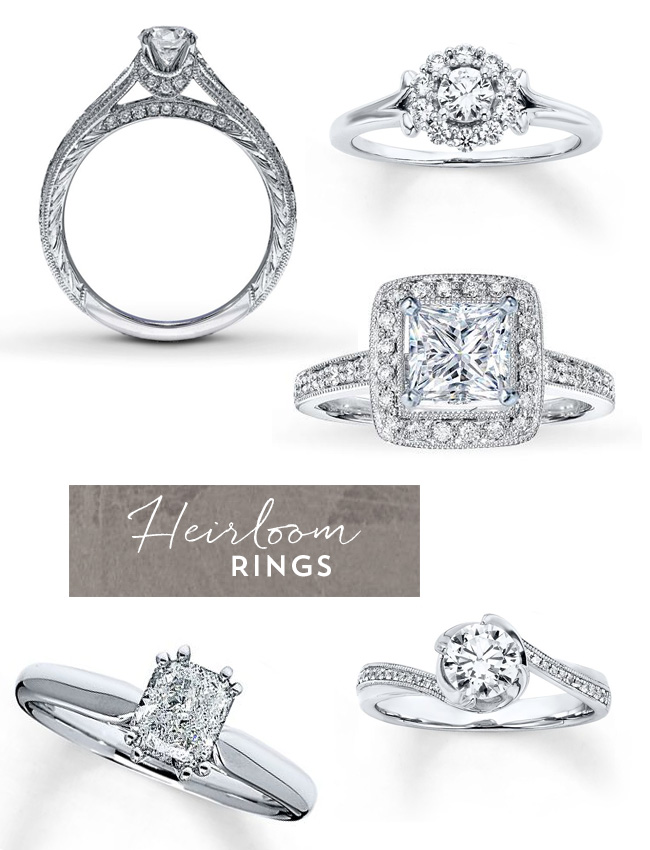 heirloom engagement rings - Wedding Rings Jared