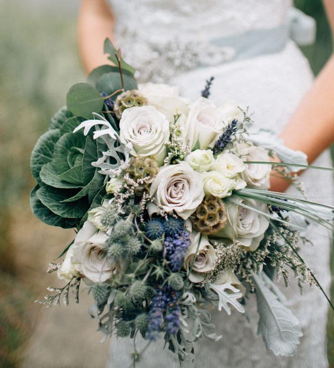 ocean blue bouquet