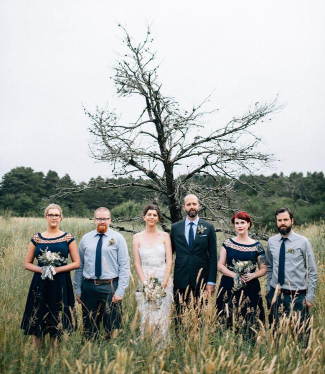 oregon wedding party