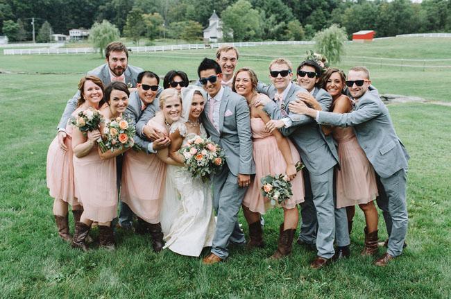 Pennsylvania wedding party