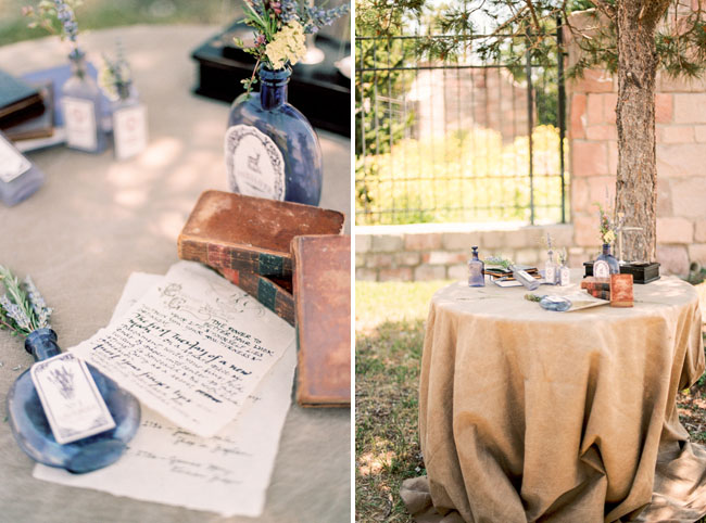 outlander guest book table