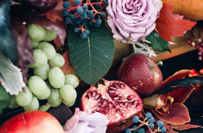 fruit inspired centerpiece