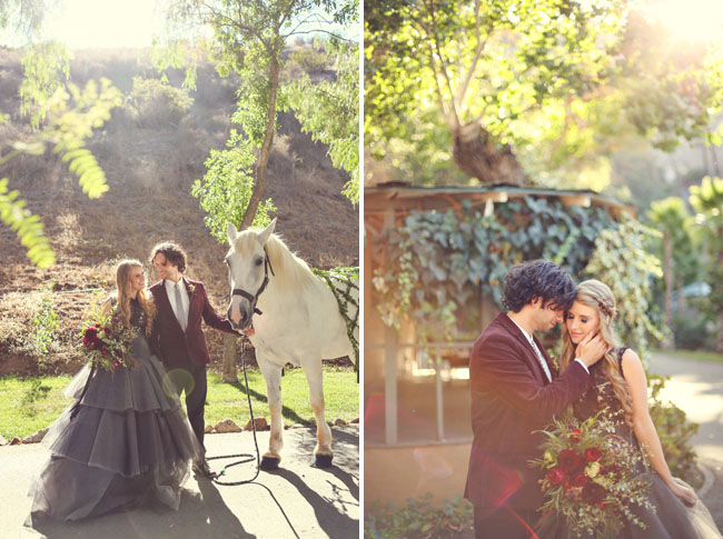 sleepy hollow inspired wedding
