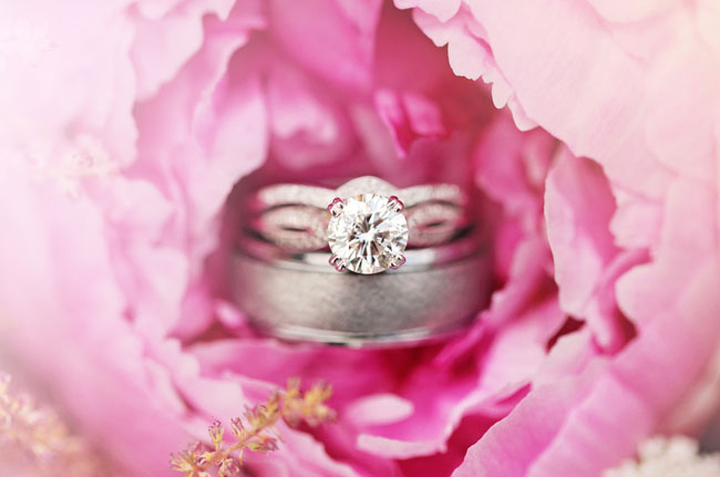 rings in a flower