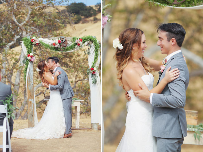 La Cuesta Ranch ceremony