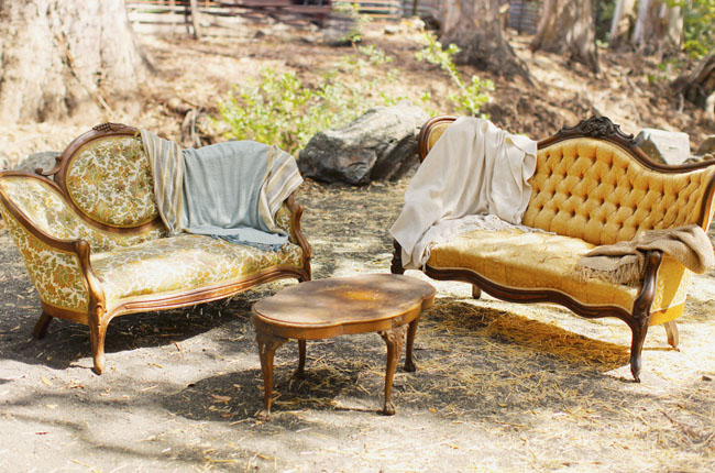 vintage couch lounge