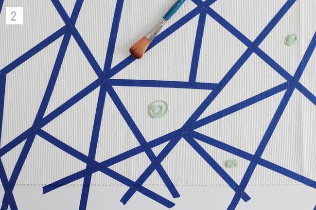 DIY Geometric Runner