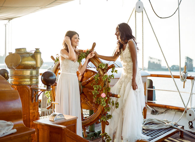Ship bridal inspiration