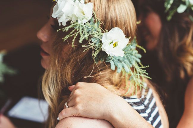flower crown bridal shower