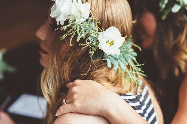 flower crown bridal shower