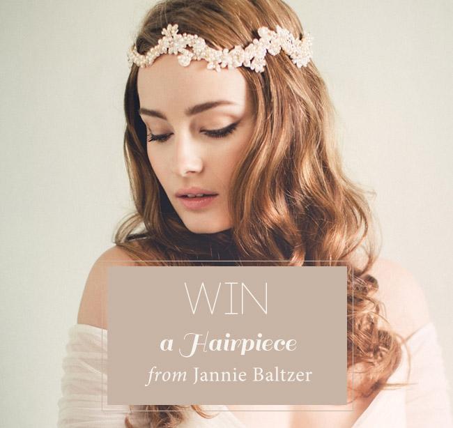 Win a hairpiece from Jannie Baltzer