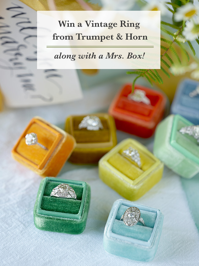 Trumpet & Horn Ring Giveaway