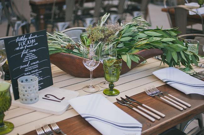 organic green florals