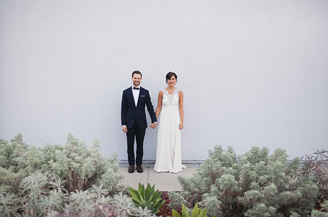 Smog Shoppe wedding