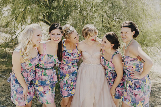 Anthropologie Fl Dresses Eclectic Palm Springs Wedding