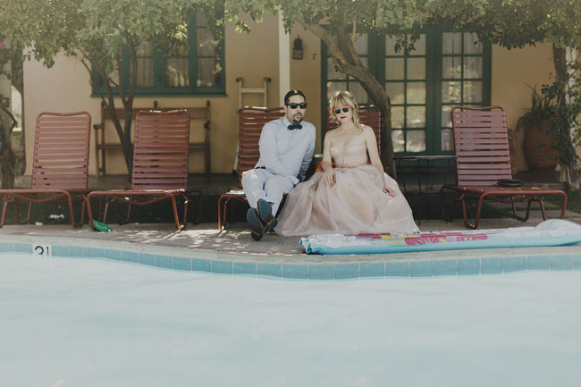 Eclectic Palm Springs wedding