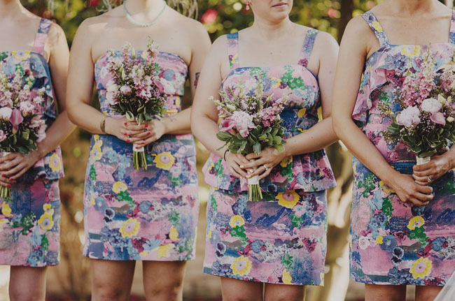 Anthropologie floral dresses
