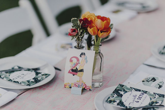 eclectic table number