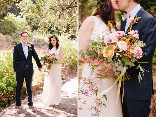 Berkeley bride and groom