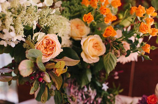 flower garden centerpiece