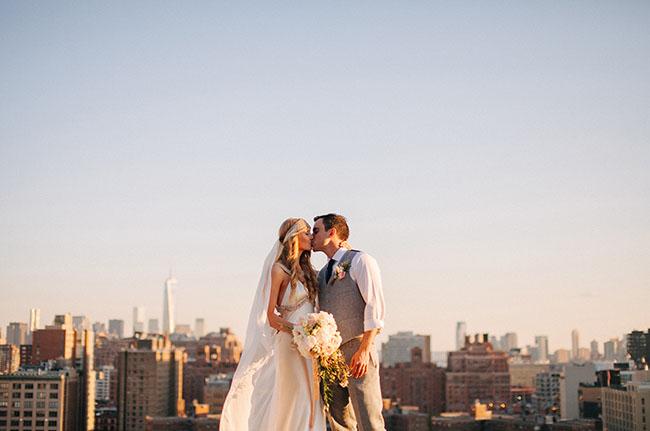 New York rooftop wedding