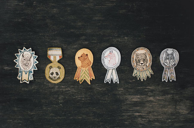 scout badge boutonnieres